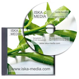 CD Label und CD Cover