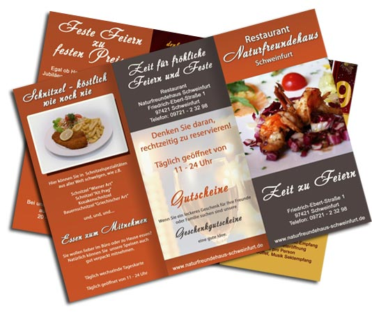 Flyer Design Restaurant