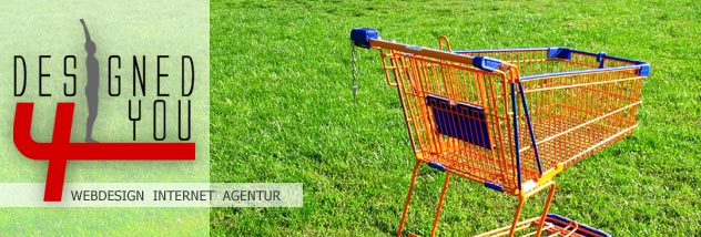 Webshop von designed4you WebdesignAgentur