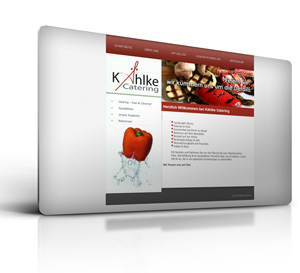 Homepage - Webseite Cateringservice