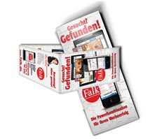 Flyerdesign Vertrieb Onlinemarketing Falk - Pirmasens