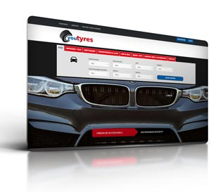Reifen Onlineshop, Webdesign & CMS  Youtires  Kierspe