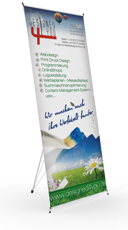 Roll Up Display Werbeagentur